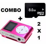 Mp3 Con Pantalla Lcd Fm Incluye Audifono +micro Sd Pereira