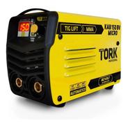 Máquina Solda Inversora Micro Kab 150amp Tork Bivolt Mma Tig