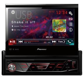 Dvd Player Pioneer Avh-3180bt Tela Retratil De 7 Bluetooth