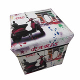 Baúl Organizador Tipo Cubo Puff 65415/ Fernapet