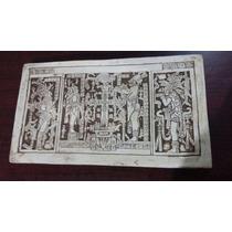 Cuadros De Piedra Con Grabados Originales De La Cultura Maya