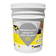 Pasta Pegamento Ceramica Sobre Placa De Yeso 7 Kg Weber - Mm