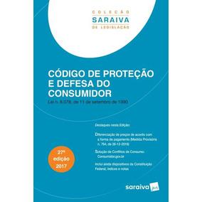 Código De Proteção E Defesa Do Consumidor - 27ª Ed. 2017...