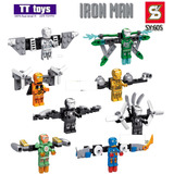 Coleccion De Figuras Compatibles Con Lego Ironman