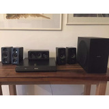 Home Theater Philips 5.1 1000w Bluetooth