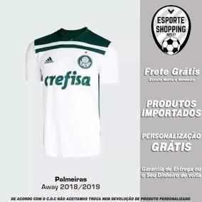 8e948a108b95e Camisa Palmeiras 2018 2019 Away Uniforme 2 Scarpa Dudu Borja