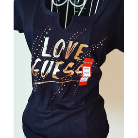 Guess Camiseta Mujer L