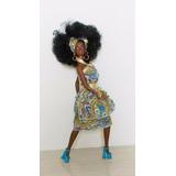 Antiga Boneca Amiga Da Barbie Christie Negra Mattel Anos 90