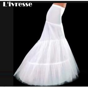 Saia De Armação Anágua Saiote Para Vestido De Noiva Sereia