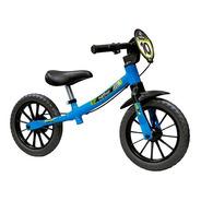 Bicicleta Infantil Sem Pedal Equilíbrio Balance Azul Nathor