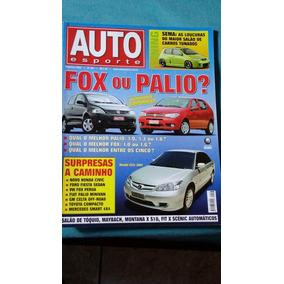 Auto Esporte N°463 Fox Ou Palio * Mercedes Smart 4x4 * Civic