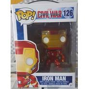 Iron Man - Homem De Ferro Civil War Funko Pop Boneco