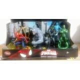 Spiderman Set 6 Figuras Disney