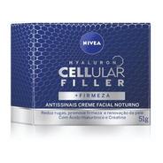 Creme Antissinais Nivea Hyaluron Cellular Filler Noite 50ml
