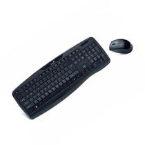 Kit Teclado Mouse Inalambrico Genius Kb 8000 P/smart Tv