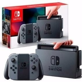 Nintendo Switch 32gb Cinza Caixa Original 100% Original Novo