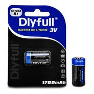 Bateria Pilha Alkalina Cr 123a 3v Lithium P/ Sensor Alarme