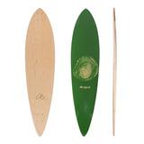 Shape Agacê Maple Pintail Tree Rings 9.5 X 40 Verde
