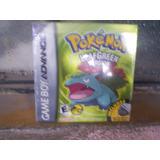 Pokemon Leaf Green Completo Nintendo Game Boy Advance