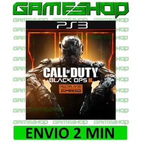 Call Of Duty Black Ops 3 Bo3 Ps3 Cod Play 3 Psn