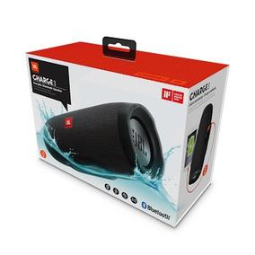 Caixa De Som Bluetooth Jbl Charge 3 - Original