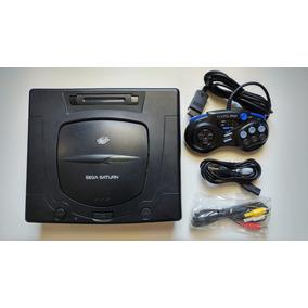 Sega Saturn Destravado E Chaveado Com Garantia!! Raríssimo!!
