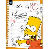 Caderno Simpsons 96 Folhas