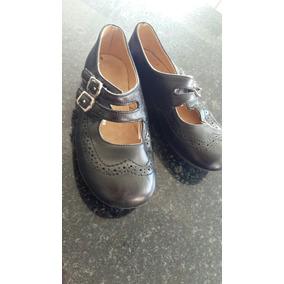 Zapatos Cuero Paula Cahen Danvers Talle 25 Impecables