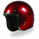 Torc T-50 Superflake Red 3/4 Cafe Racer, Bobber, Rider One