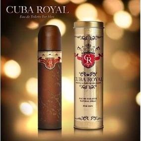 Kit 10un Perfume Cuba Dourado Ou Royal 100ml