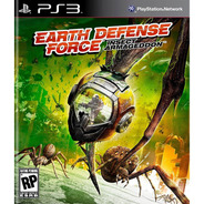 Earth Defense Force Insect Armageddon Ps3 Original Lacrado