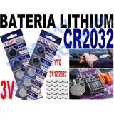 Bateria Pila Motherboard Cr2032 Lithium 3v