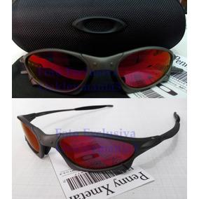 943dfaa94273a Oculos Oakley Penny Xmetal Lente Dark Ruby Polarizada + Cas