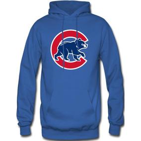 Sudadera Chicago Cubs Mlb Hoodie Capucha Con Cangurera