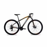 Bicicleta Oggi Hacker Sport 29 2017 Shimano 21v Pt/la Tam 17