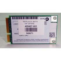 Tarjeta Red Wifi Compaq Presario C700 F500 F700 409407-001