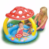 Pileta Inflable Intex Bebe Techo Honguito