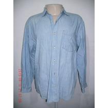 Rara Camisa Jeans Anos 80 - ( Masc) Us Top Tam: G