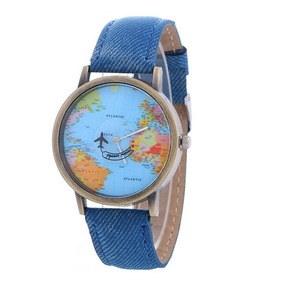 c5cf831fdea Relogio Mapa Mundi - Relógio Feminino no Mercado Livre Brasil