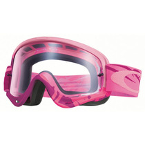 Goggles Oakley O Frame Mx Razorwire Pink / Rose - Clear
