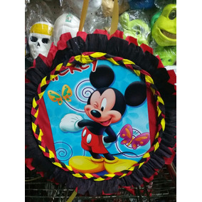 Piñata De Mickey Cotillón De Mickey Funbren Fiestas
