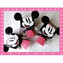Cajitas Golosineras Minnie, Mickey Lo + Original Para Cumple