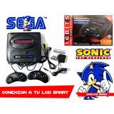 Consolas 16 Bit Sega Nuevas Completas Soportan Lcd Smart