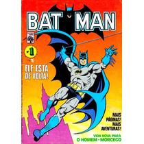 Batman - Coleção 1937 A 2017 - 57 Gigas De Hqs - Digital