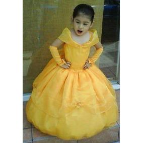 Vestido. Diafraz Princesa Bella Y Otras Princesas.