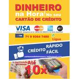 Cartão De Crédito Empréstimo 1000 Em Até 12x No Cartão