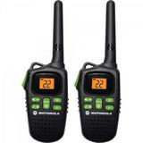 Rádio Comunicador Talkabout 20km Md200br Preto Motorola