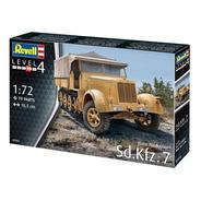 Sd.kfz. 7 Late Production Plastimodelo 1/72 Revell 03263
