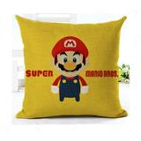 Cojin De Mario Bros Relleno Nintendo