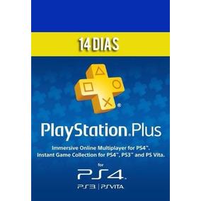 Playstation Plus Psn 14 Dias - Ps4, Ps3